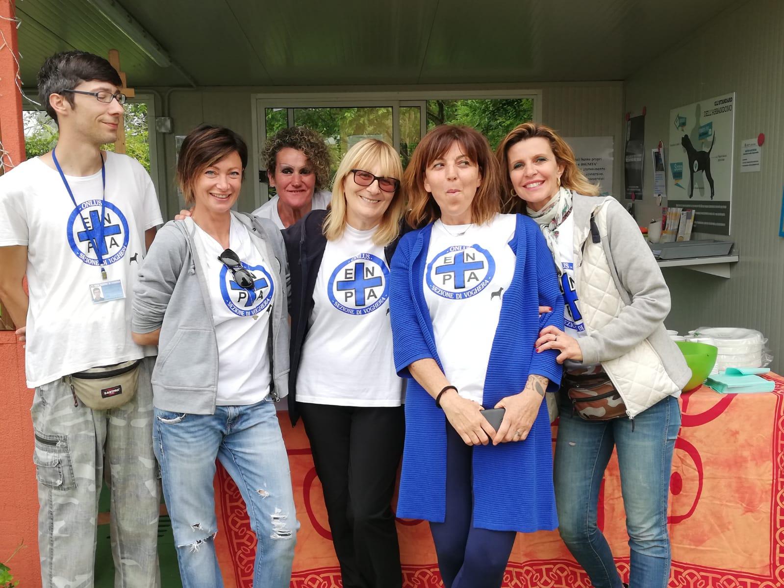 Foto dei volontari